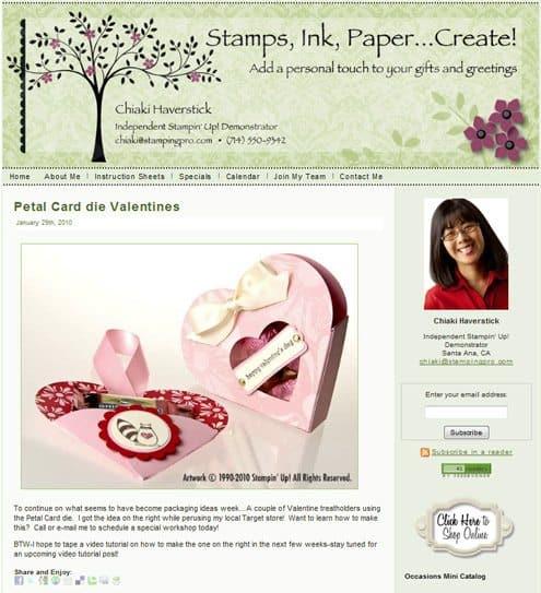 Chiaki Haverstead, StampingPro.com