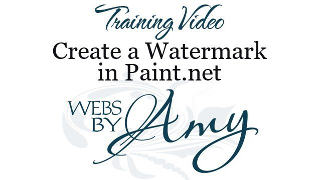 Create a Watermark in Paint.net