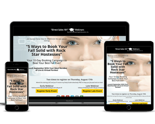 Direct Sales 101 Webinar