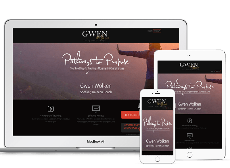 Pathways to Purpose Membership Site