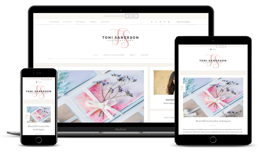 Toni Sanerson Genesis Blog