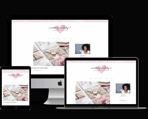 Wendy Sanos – Sample Genesis Blog Style