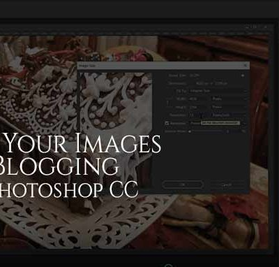Photoshop CC image optimizing