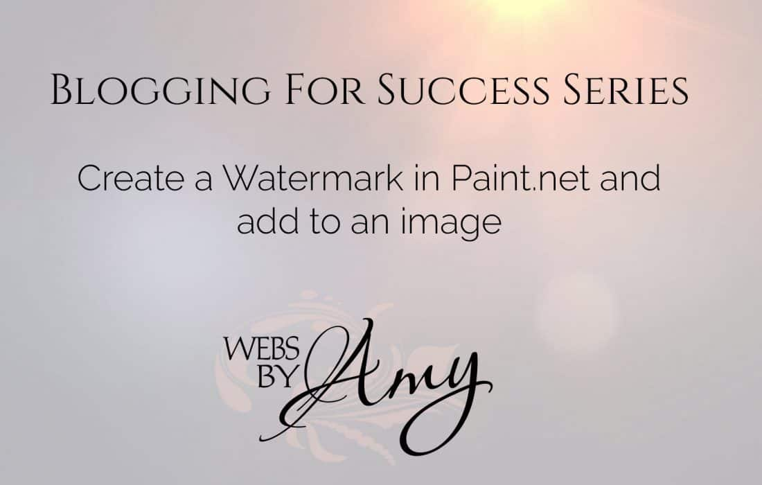Creating a Watermark in Paint.net