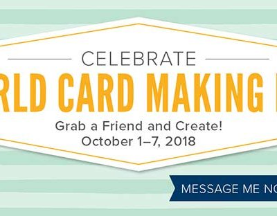 World Cardmaking Day Widget