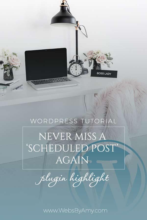 WordPress Missed Scheduled Post