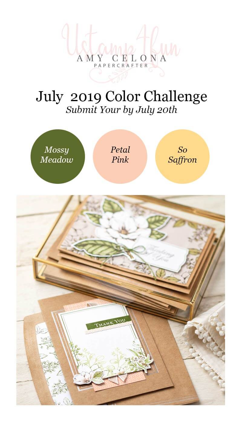 July 2019 Color Challenge