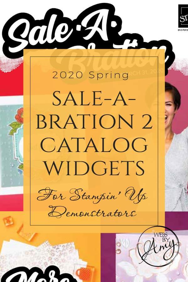 Stampin' Up! Sale-A-Bration 2 Widget