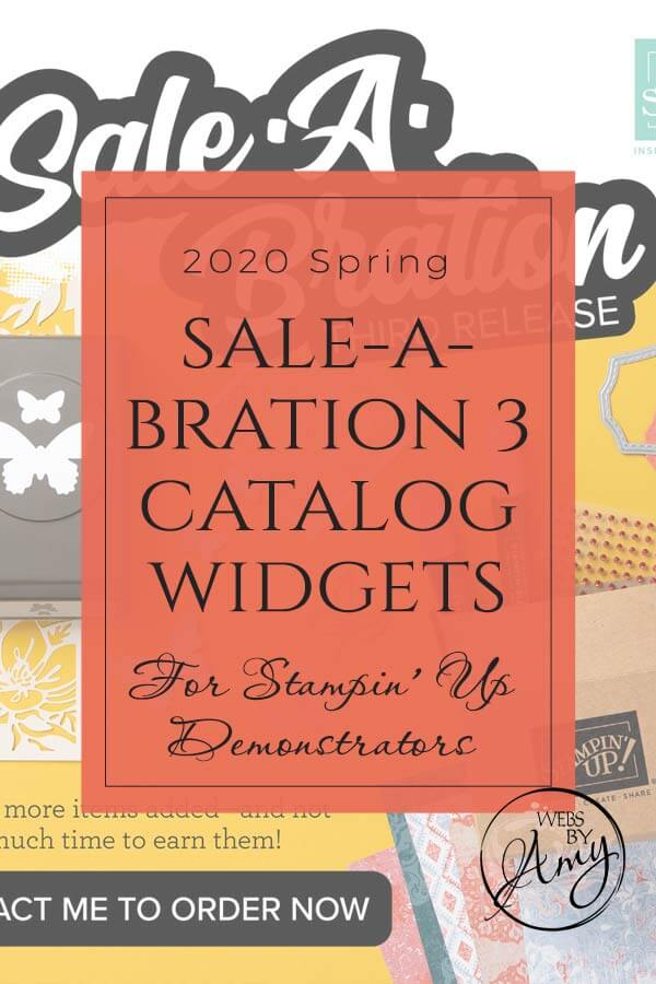 Sale-A-Bration 3 Products