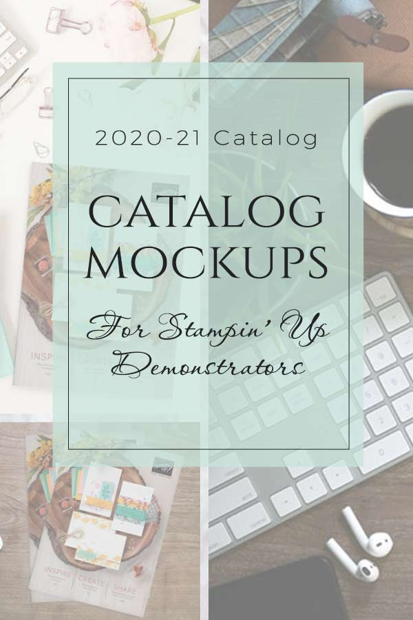2020-21 Stampin' Up! Catalog Mockups