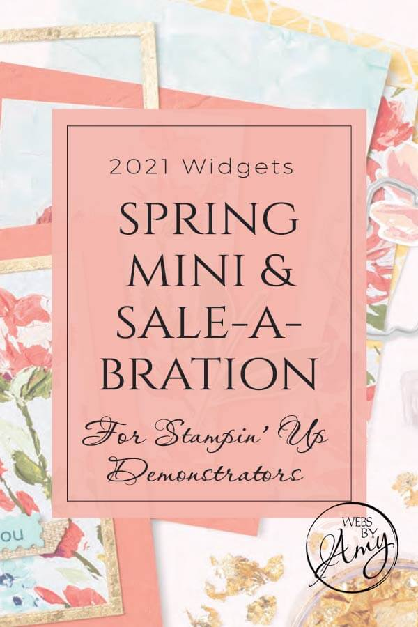 Stampin' Up! Spring Mini & SAB 1 Catalog Widgets